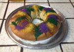 For years I've wanted to bake a King Cake. Finally, I found an easy recipe.